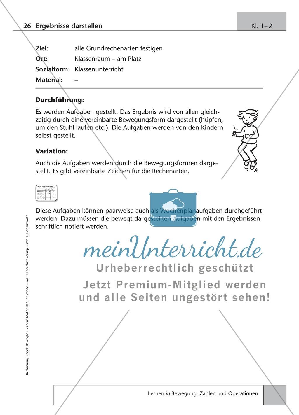 Arithmetik: Festigung der Grundrechenarten im Zahlenraum ...