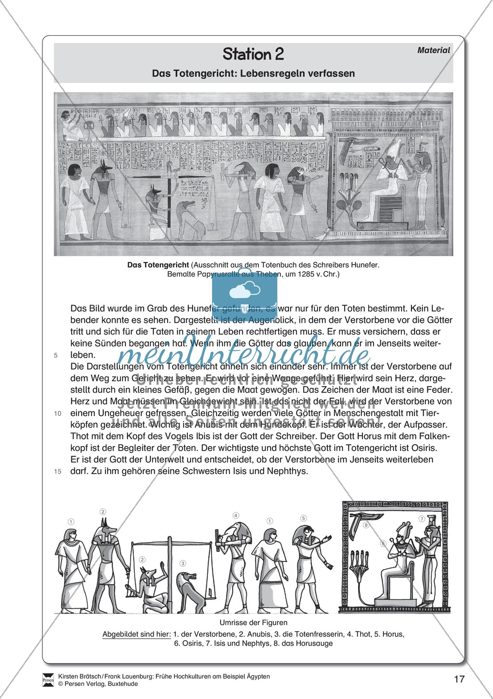 Ägypten - Stationenlernen Preview 12
