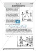 Die mittelalterliche Grundherrschaft: Identifikation mit einer Person im Bild. Lernstation Preview 2