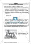 Das Leben auf einer mittelalterlichen Burg: Ein Interview führen. Lernstation Preview 2