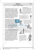 Die Ritter im Mittelalter: Fragen entwickeln. Lernstation Preview 2