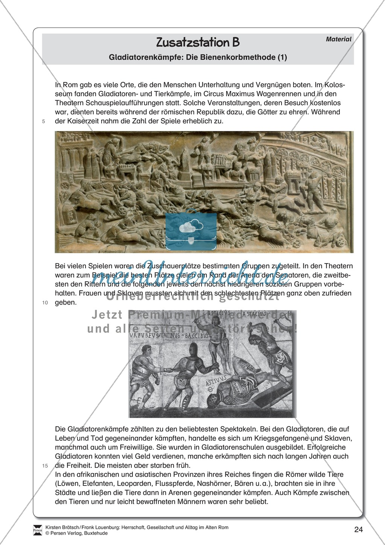 Das alte Rom - Stationenlernen. Preview 16