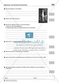 Geschichte, Handlungs- und Kulturräume, Epochen, Leitprobleme, Deutsche Geschichte, Französische Revolution bis zum 1. Weltkrieg, Historische Akteure, Deutsche Revolution, Napoleon, lernerfolgskontrolle