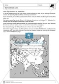 Erdkunde, Länderkunde, Kontinente, Asien