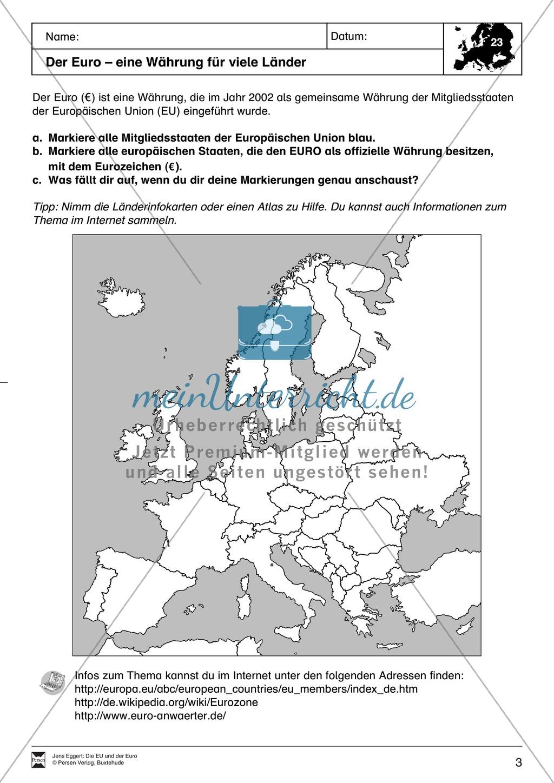 Die EU und der Euro Preview 2