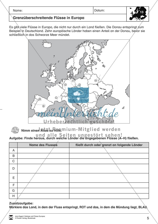 Der Kontinent Europa: Flüsse Preview 2