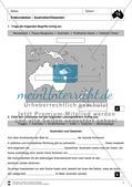 Der Kontinent Australien/Ozeanien: Erdkundetest - Topographie + Länder Preview 1