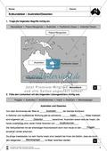 Der Kontinent Australien/Ozeanien: Erdkundetest - Topographie + Länder Preview 3