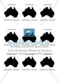 Der Kontinent Australien/Ozeanien: Länderinfokarte Preview 1