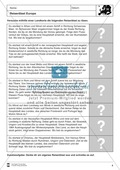 Europarätsel: Länderkunde + Topographie Preview 4