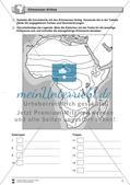 Das Klima in Afrika: Klimazonen + Klimadiagramme + Vegetation Preview 3