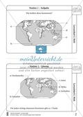 Erdkunde, Naturbedingungen und -ereignisse, Länderkunde, Landschaftsformen und -prozesse, Geologie, Welt, Topographie, kartenkompetenz