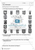 Die 16 Bundesländer: Basisdaten + Landeswappen + Nachbarländer Preview 3