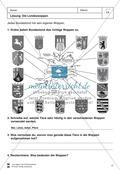 Die 16 Bundesländer: Basisdaten + Landeswappen + Nachbarländer Preview 7