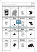 Die 16 Bundesländer: Basisdaten + Landeswappen + Nachbarländer Preview 8