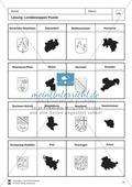 Die 16 Bundesländer: Basisdaten + Landeswappen + Nachbarländer Preview 9