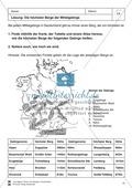 Arbeit mit Atlanten: Landschaftsformen, Flüsse und Gebirge in Deutschland Thumbnail 12