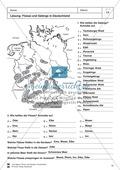 Arbeit mit Atlanten: Landschaftsformen, Flüsse und Gebirge in Deutschland Thumbnail 13