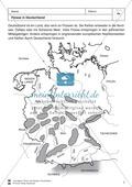Arbeit mit Atlanten: Landschaftsformen, Flüsse und Gebirge in Deutschland Thumbnail 1
