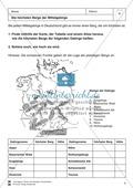 Arbeit mit Atlanten: Landschaftsformen, Flüsse und Gebirge in Deutschland Thumbnail 5