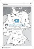 Städte in Deutschland: Räumliche Verteilung + Basisdaten + Städterätsel Preview 6