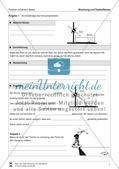 Optik - Brechung und Totelreflexion: Vorlage für Versuchsprotokolle zu Schülerexperimente Preview 1