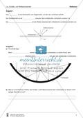 Optik - Reflexion: Lückentexte, Verständnis und Rechenaufgaben mit Lösungen Preview 3
