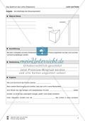 Optik: Vorlage für Versuchsprotokolle - Farbaddition und Brechung an Prismen Preview 2