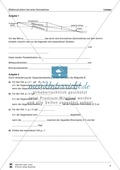 Optik - Bilderzeugung bei der Sammellinse: Vorlage Versuchsprotokoll + Aufgaben + Lösungen Preview 4