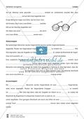 Optik - Bilderzeugung bei der Streulinse: Vorlage für Versuchsprotokoll + Aufgaben + Lösungen Preview 2