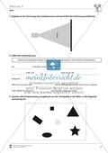Optik: Schattenwurf an verschiedenen Objekten. Mit Aufgaben und Lösungen. Preview 2