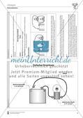 Elektrizitätslehre: Vorlage für ein Versuchsprotokoll zur Parallel- und Reihenschaltung von Lampen mit Lösungen Preview 3