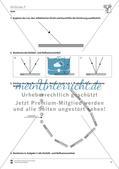 Optik: Das Reflexionsgesetz - Aufgaben und Lösungen Preview 2
