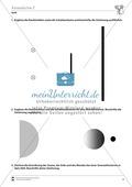 Optik: Entstehung von Halb- und Kernschatten. Mit Aufgaben und Lösungen. Preview 2