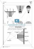 Optik: Entstehung von Halb- und Kernschatten. Mit Aufgaben und Lösungen. Preview 3