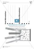 Wärmelehre: Wärmeleitung von verschiedenen Stoffen. Mit Schülerversuch, Aufgaben und Lösungen. Preview 1