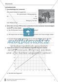 Mechanik: allgemeine Bewegungen von Körpern, gleichförmige Bewegungen und Weg-Zeit-Diagramme. Mit Aufgaben, Lernzielkontrolle / Test und Lösungen. Preview 5