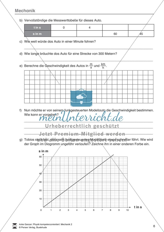 Attractive Bewegung Graphen Arbeitsblatt Image - Kindergarten ...