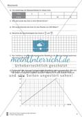 Mechanik: allgemeine Bewegungen von Körpern, gleichförmige Bewegungen und Weg-Zeit-Diagramme. Mit Aufgaben, Lernzielkontrolle / Test und Lösungen. Preview 6