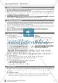 Mechanik: allgemeine Bewegungen von Körpern, gleichförmige Bewegungen und Weg-Zeit-Diagramme. Mit Aufgaben, Lernzielkontrolle / Test und Lösungen. Preview 7