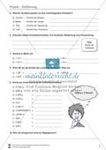 Einführung in Physik: Einheiten und Diagramme. Mit Aufgaben und Lösungen. Preview 2