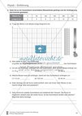Einführung in Physik: Einheiten und Diagramme. Mit Aufgaben und Lösungen. Preview 4