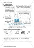 Einführung in Physik: Teilgebiete der Physik und berühmte Physiker. Mit Informationstexten, Aufgaben und Lösungen. Preview 2