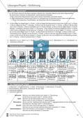 Einführung in Physik: Teilgebiete der Physik und berühmte Physiker. Mit Informationstexten, Aufgaben und Lösungen. Preview 4