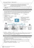 Mechanik: Aufbau und Eigenschaften von Körpern, Brownsche Bewegung und Diffusion. Mit Aufgaben und Lösungen. Preview 5