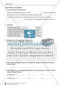 Mechanik: Volumen, Masse und Dichte eines Körpers, Archimedisches Prinzip. Mit Infotext, Aufgaben und Lösungen. Preview 1