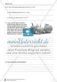 Mechanik: Volumen, Masse und Dichte eines Körpers, Archimedisches Prinzip. Mit Infotext, Aufgaben und Lösungen. Preview 3