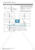 Optik - Aufgaben zu Linsen + Anwendungsmöglichkeiten + Lösungen Preview 6