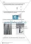 Optik: Zusammenhang zwischen Licht und Schatten, Sonnen- und Mondfinsternis, Mondphasen. Mit Aufgaben und Lösungen. Preview 2