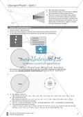 Optik: Zusammenhang zwischen Licht und Schatten, Sonnen- und Mondfinsternis, Mondphasen. Mit Aufgaben und Lösungen. Preview 6